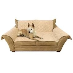 """K&H Pet Products Furniture Cover Loveseat Tan 26"""""""" x 55"""""""" seat, 42"""""""" x 66"""""""" back, 22"""""""" x 26"""""""" side arms"""