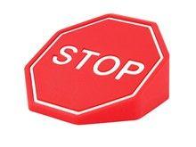 Red Stop Road sign Fun Door Stopper Door Stop