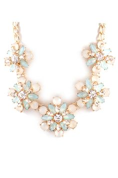 Anne Necklace in Aspen Mint on Emma Stine Limited