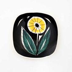 132 - Solsikke - Stavangerflint Stavanger, Icon Design, Norway, Bowls, Pottery, Icons, Plates, Ceramics, Retro