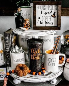 "Carly 🖤🎃👻🇬🇧 on Instagram: ""How stunning is this Rae Dunn Set 💚💜🧡 #pumpkin #halloween #halloweenshopping #halloweenmerch #halloweendecor #halloweendecorations…"""