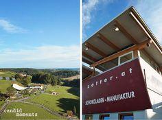 Kulinarischer Herbst Riegersburg / Steiermark / Zotter Schokoladenmanufaktur Foto: www.candid-moments.at