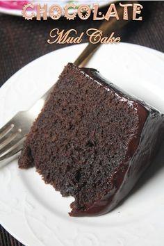 YUMMY TUMMY: Easy Chocolate Mud Cake Recipe Ever