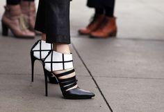 Balenciaga shoes via Nina Garcia
