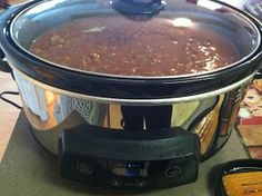 The Legal Chef: Quick and Easy Crock Pot Chili