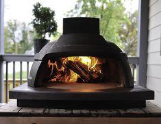 Best Outdoor Pizza Oven, Brick Oven Outdoor, Portable Pizza Oven, Outdoor Bars, Mobile Pizza Oven, Brick Oven Pizza, Oven Design, Wooden Spatula, Baking Stone