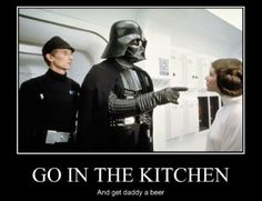 Darth Vader, sexist Sith