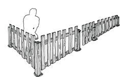 Pallet fence - with instructions