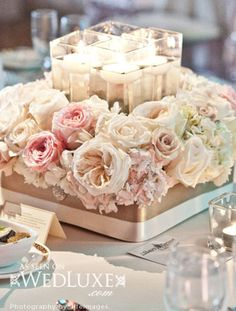 2014 Spring luxury wedding reception table decorations Archives | Weddings Romantique