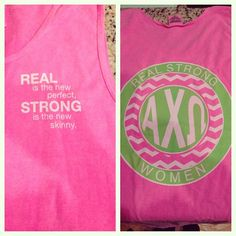 Dangerously obsessed with this Gamma Phi Beta, Alpha Chi Omega, Phi Mu, Alpha Phi, Sorority Outfits, Sorority Gifts, Strong Girls, Strong Women, Chi Omega Crafts