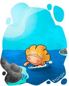 Nadada: Tramo que se realiza a nado. Ej: Gofio fue a la playa a echarse unas nadadas.