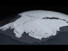 Antarctic Ice Sheet Melting Faster Than Expected: Sea Level Rise Inevitable Nasa Goddard, Ice Sheet, Les Continents, Sea Level Rise, Energy Resources, Borobudur, Inevitable, Mountain Range, Go Green