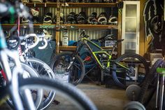"""""""N+1: the formula for determining the number of bikes one should own, where N equals the number of bikes one currently owns.  @jaredgravesmtb is a believer…"""""""