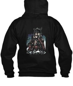 Dark Goddess Black Sweatshirt Back