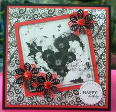 Made by Maureen Scott using Lelli-Bot Crafts Gothic Lace Kit