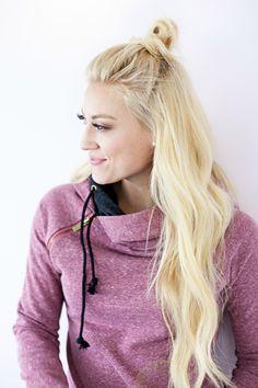 DoubleHood™ Sweatshirt - Blended Berry
