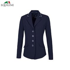 Anna Competition Jacket - Navy By Equiline