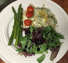 Sheet Pan Meal - Roasted Cod with Asparagus and Fennel for Bariatric Eating