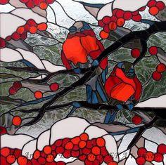 Снегири, автор elena. Артклуб Gallerix