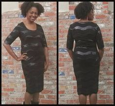 Sew You Think You Can Knock Off: Review McCalls 6886: The sequined LBD.