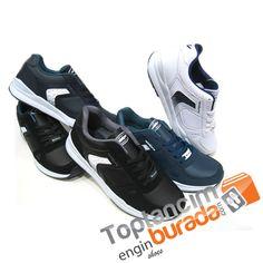Günlük hayatın kullanımında neredeyse vazgeçilmez haline gelen spor ayakkabılar, popülerliğini arttırmaya devam ediyor. Ayakta uzun süre kalan, koşu, yürüş ve benzeri spor aktiviteleri içinde olan, günlük giyimi içerisinde sportif bir tarz sergilemek isteyen herkese, isterse kotun altına, kanvasın altına binlerce model ve renk kombinasyonlarıyla toptancımburada.com farkıyla hizmet veriyoruz.   Toptan ayakkabı alımı için tıklayınız.. toptan ayakkabı satışı #ucuztoptanayakkabı #toptan…