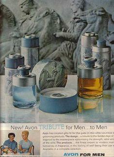 Publicité Vintage -  Parfum Avon - Années 1960