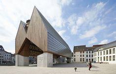 Market Hall in Ghent / Marie-José Van Hee + Robbrecht & Daem, by Hufton + Crow