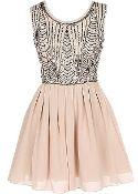 Almond Sparkler Dress