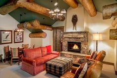 Dream House - Wyoming Log Ski Home (21 Photos) (13)