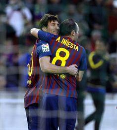 Fue un partido muy duro el de ayer, pero pudimos sacar una victoria, no podemos perder si queremos conseguir la liga! by Leo Messi