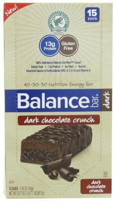 Balance Bar Dark Chocolate Crunch Bar, 15 count - Listing price: $16.99 Now: $11.47