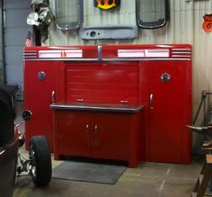 1940 S Alemite Work Station Cool Garages Classic Car