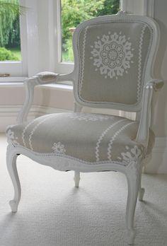 1900s Gustavian Round Back Carver Chair. [Swedish Interior Design]