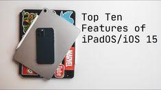 Top Ten iOS/iPadOS 15 Features - YouTube Ios, Top Ten, Ipad Pro, Youtube, Phone, Telephone, Youtubers, Mobile Phones, Youtube Movies