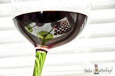 Kieliszki zielone do wina Rocking, Sagaform