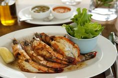 Mozambican prawns to make your mouth water