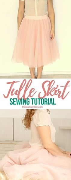 Ever wondered how to make a tulle skirt for ladies? Making a tulle skirt is pretty much the same for little girls and women and this DIY tulle skirt tutorial makes the whole process so easy peasy! #easypeasycreativeideas #skirt #sew #sewing #sewingiinspiration #sewingtutorials #sewingprojects #tulle