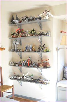 Trendy bedroom organization for teens boys shelves Lego Display Shelf, Lego Shelves, Lego Storage, Shelves In Bedroom, Bedroom Wall, Lego Regal, Lego Room, Wall Shelves Design, Wall Shelving