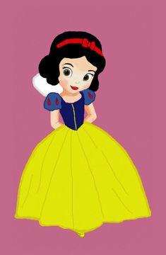 Little Disney Princess - disney-leading-ladies Fan Art