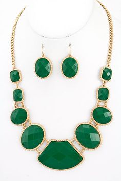 Emerald Statement Jewelry