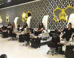 Clients Get the Royal Treatment at Laqué Nail Bar - Nails Magazine