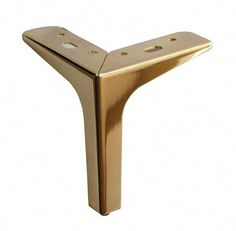 Chrome or Brushed Brass or Brushed Satin Square Furniture Legs, Sofa Legs, Metal Legs Feet, for Sofa Couch Cabinet, Set DIY Made Easy Brass Furniture Legs, Steel Furniture, Ikea Furniture, Furniture Removal, Furniture Online, Furniture Projects, Furniture Cleaning, Furniture Logo, Bespoke Furniture