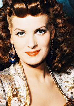 Maureen O'Hara -  I think she is a terrific actress and IMO doesn't the real recognition she deserves..