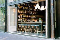 Bambudda restaurant- love the bar stools! Decoration Restaurant, Restaurant Seating, Cafe Restaurant, Restaurant Design, Vancouver Neighborhoods, Vancouver Restaurants, Persian Restaurant, Pallet Seating, Stools For Kitchen Island