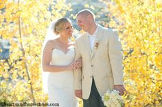Lake Tahoe Wedding at The Hideout in Kirkwood! Fall Wedding. Rustic Tahoe wedding.  www.heartsandhorseshoes.com