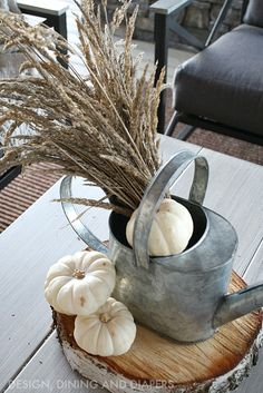 Fall Home Tour - Design, Dining + Diapers Fall Decorations, Thanksgiving Ideas, Autumn Home, Fall Season, Diapers, House Tours, Decor Ideas, Seasons, Texture