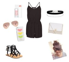 """""""Summer No.6"""" by sharifabakhtani on Polyvore featuring Mystique, New Look, Ray-Ban, Kate Spade, Miss Selfridge and Maybelline"""
