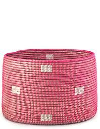 pink basket - Google Search