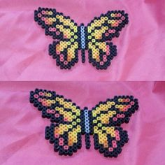 Butterfly perler beads by tryginal