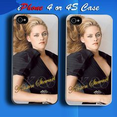 Kristen Stewart Custom iPhone 4 or 4S Case Cover 4s Cases 52cff307b7b4